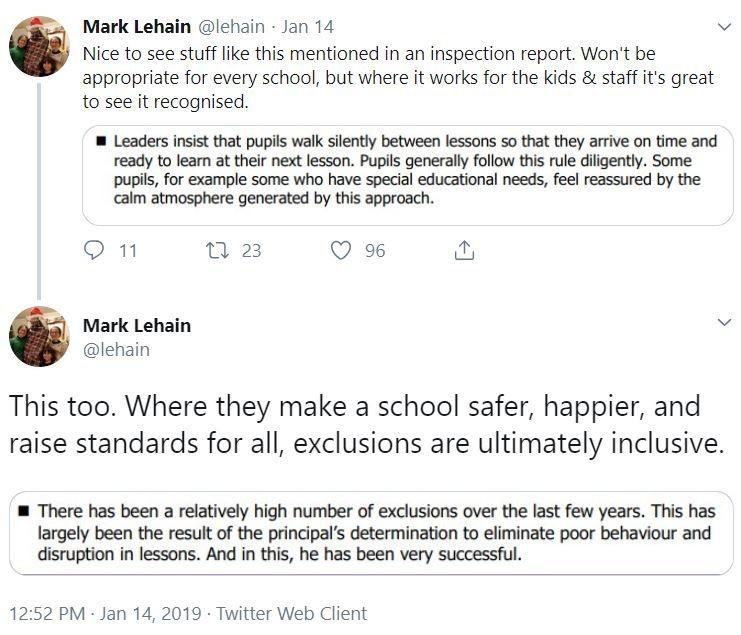 Mark Tweets